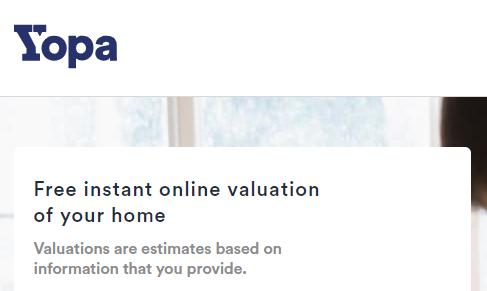 Yopa House Valuation