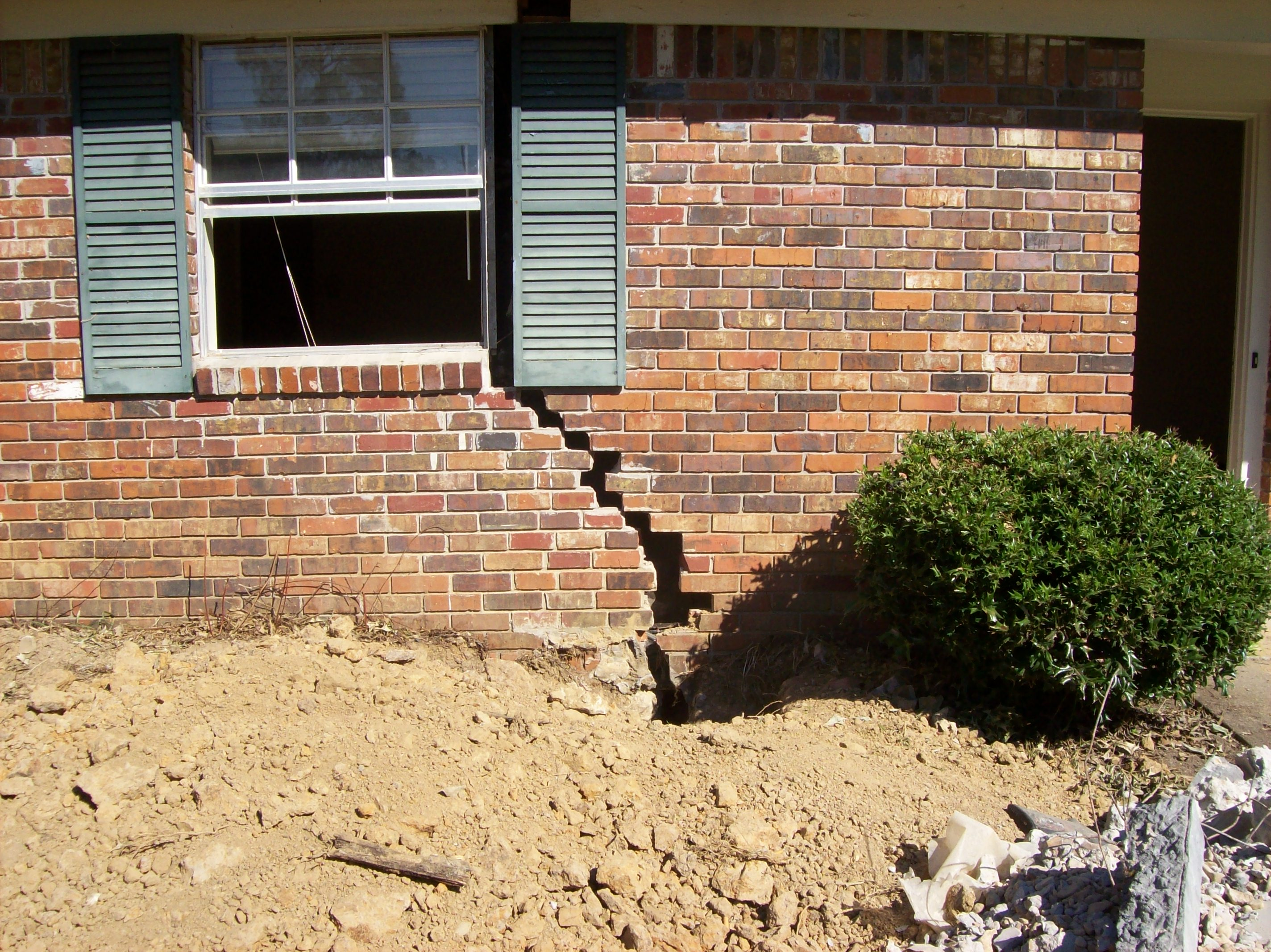 Sell house with subsidence issues