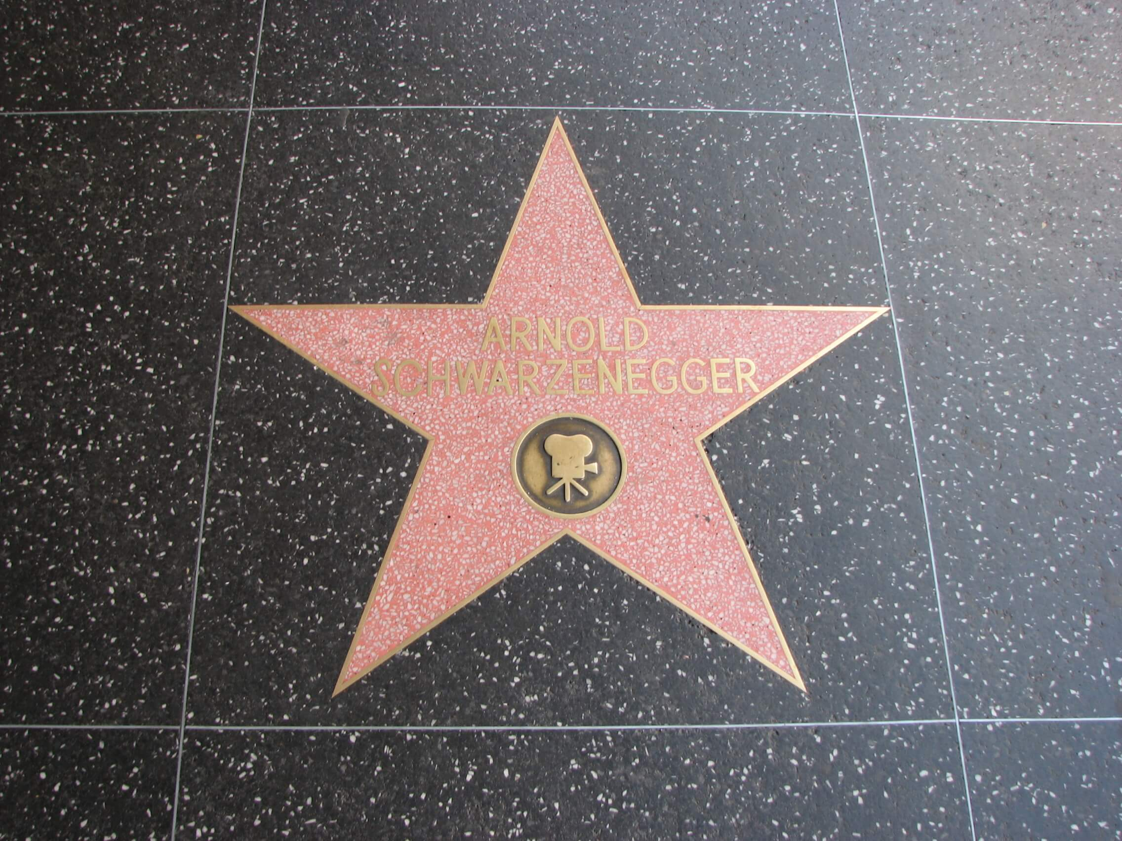 Arnold Schwarzenegger Hollywood Walk of Fame