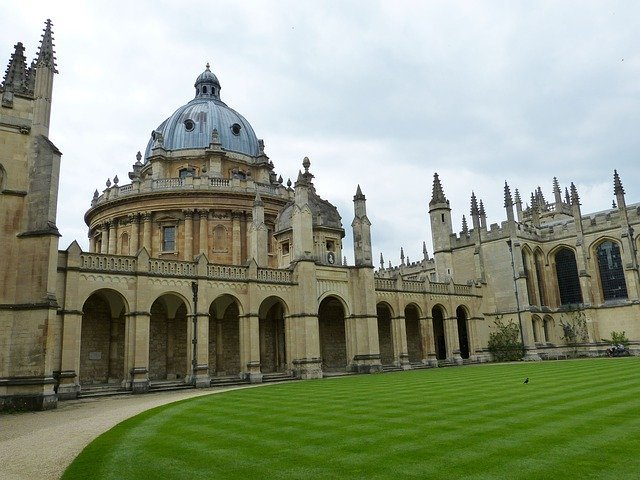 Oxford University dome building