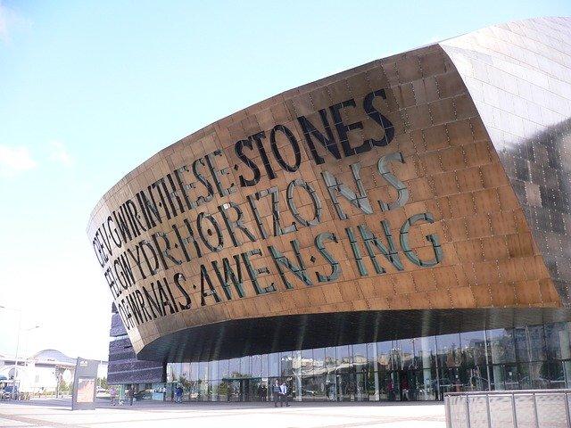 The Millennium Centre in Mermaid Quay, Cardiff