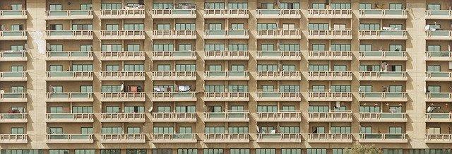large block of flats